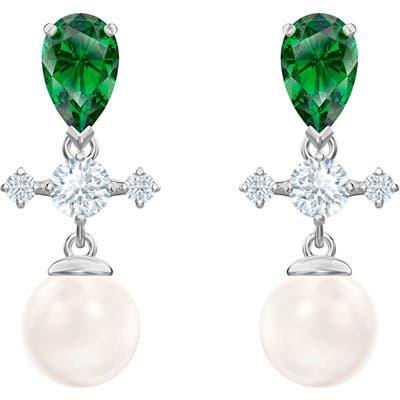 Swarovski Perfection Imitation Pearl Drop Earrings
