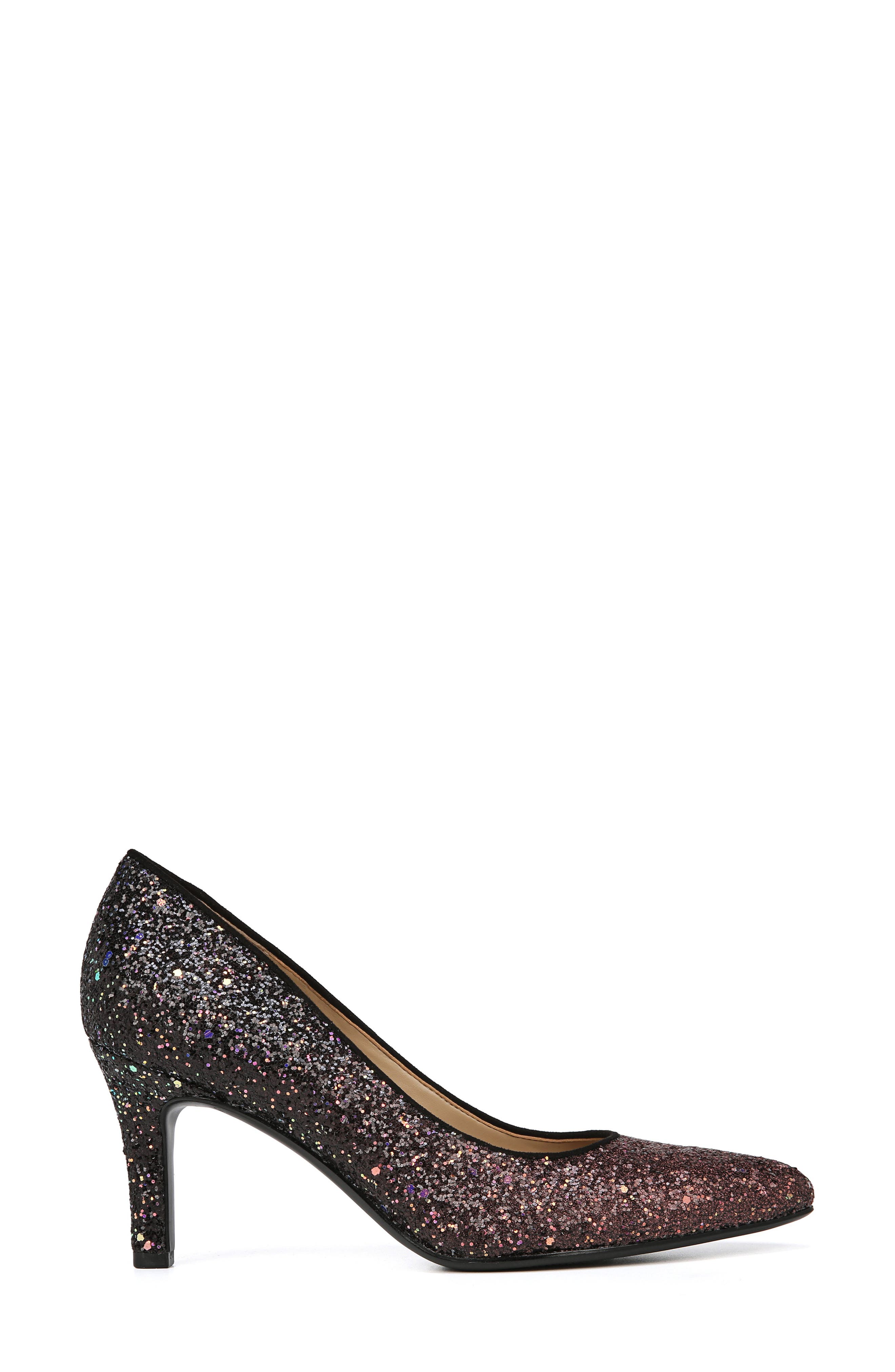 ,                             Natalie Pointy Toe Pump,                             Alternate thumbnail 2, color,                             MULTI GLITTER FABRIC
