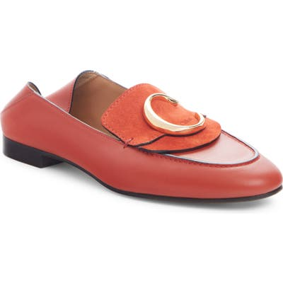 Chloe C Convertible Loafer, Red