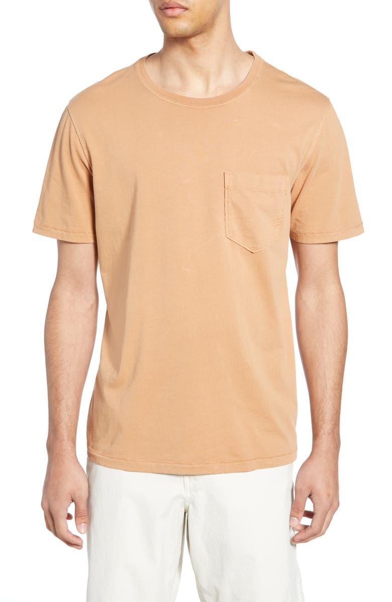 BILLY REID Standard Fit Crewneck T-Shirt, Main, color, TERRACOTTA