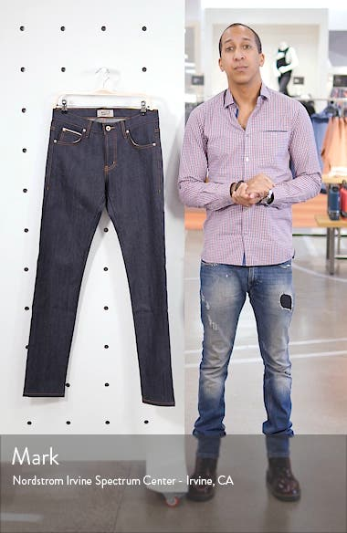 Super Guy Skinny Fit Selvedge Jeans, sales video thumbnail