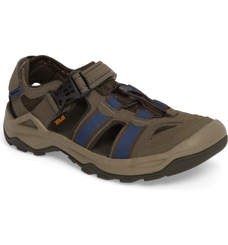 TEVA Omnium 2 Hiking Sandal, Main, color, BROWN NYLON