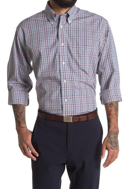 Image of Brooks Brothers Check Print Regular Fit Shirt
