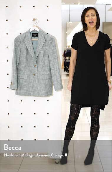Harlow Cotton, Wool & Silk Blazer, sales video thumbnail