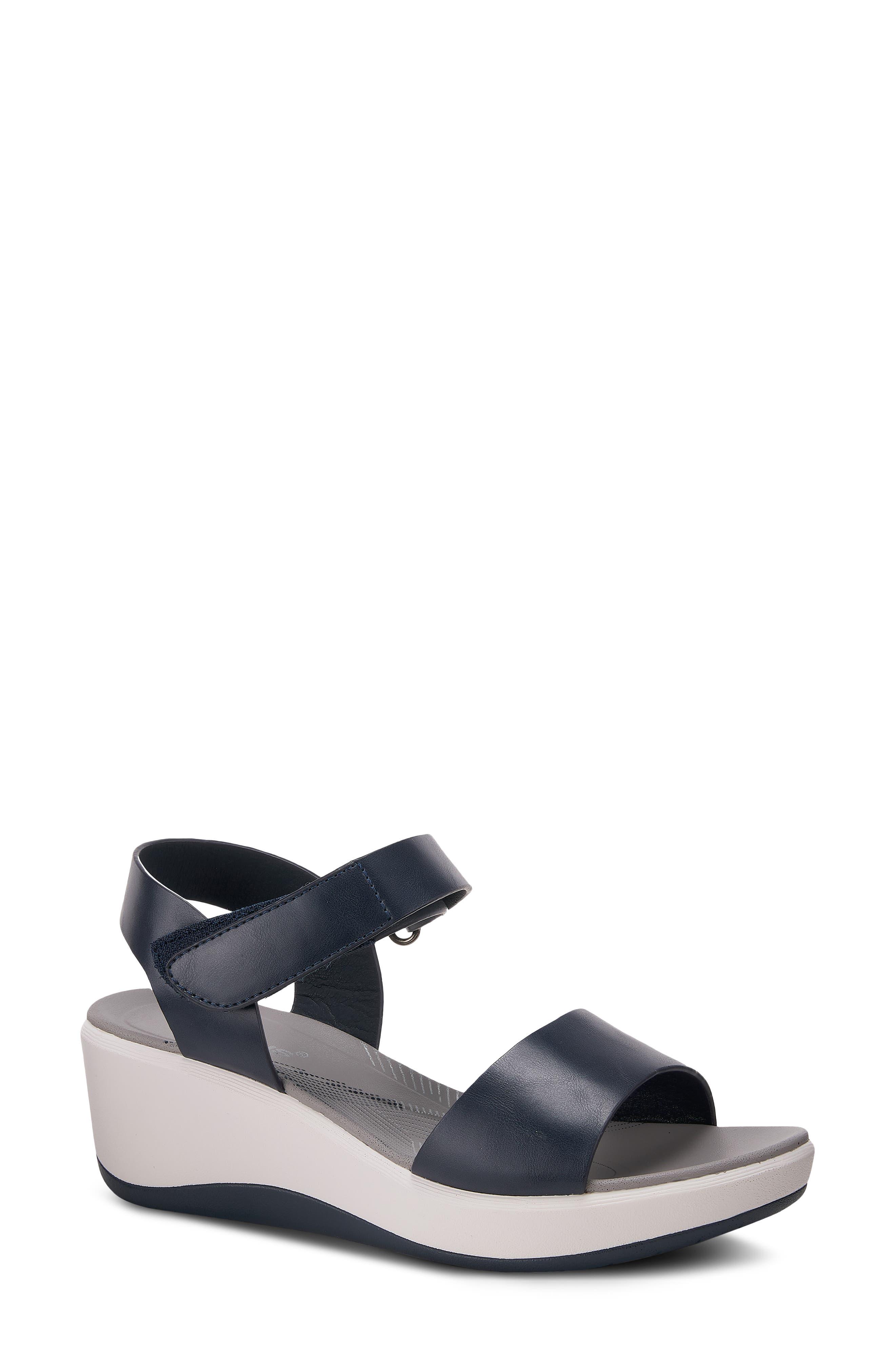 Valene Wedge Sandal