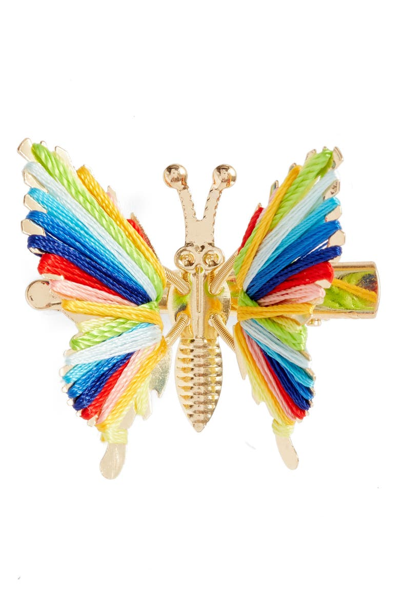 BP. Be Proud by BP. Gender Inclusive Butterfly Hair Clip, Main, color, MULTI