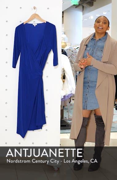 Sweetheart Neck Wrap Dress, sales video thumbnail