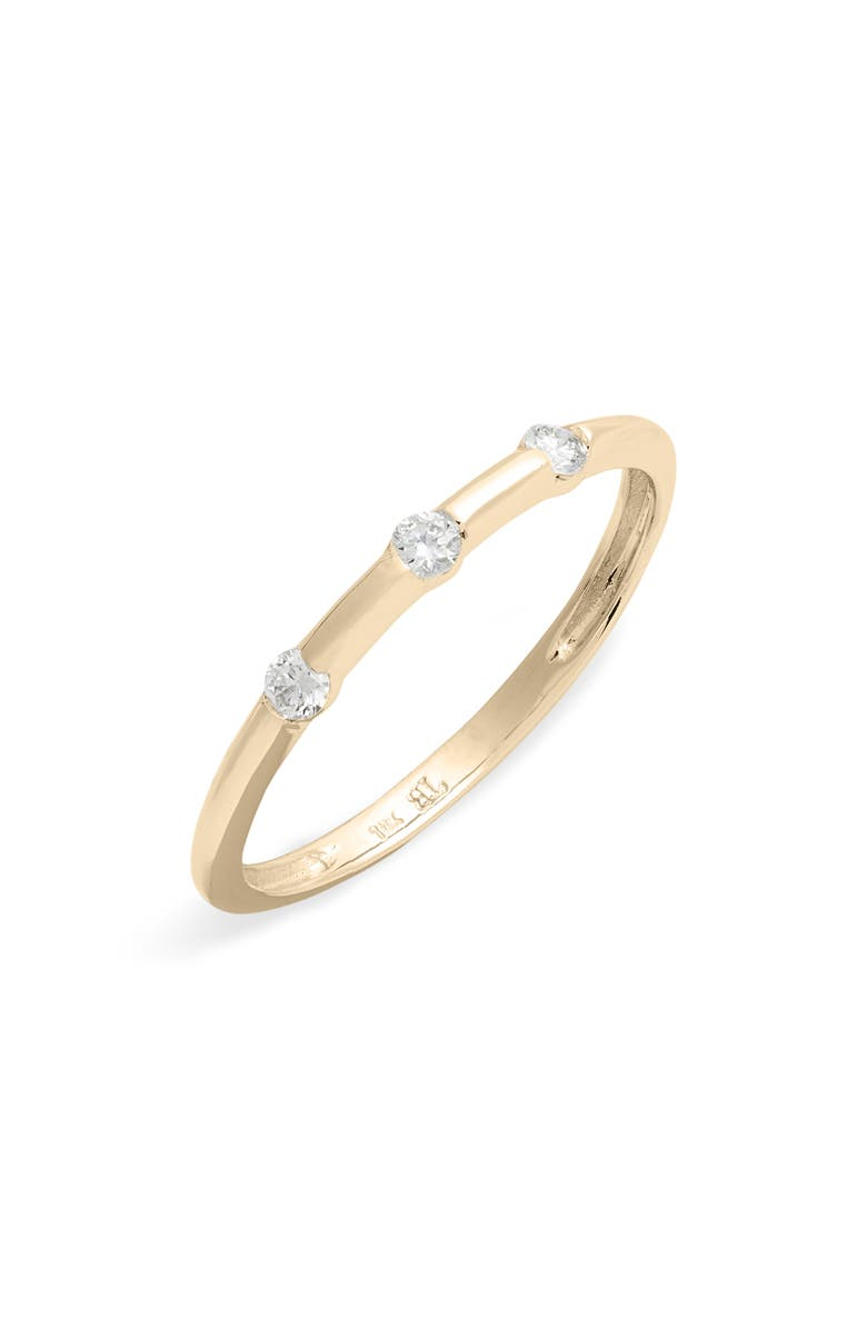 BONY LEVY Ofira Diamond Stacking Ring, Main, color, 710