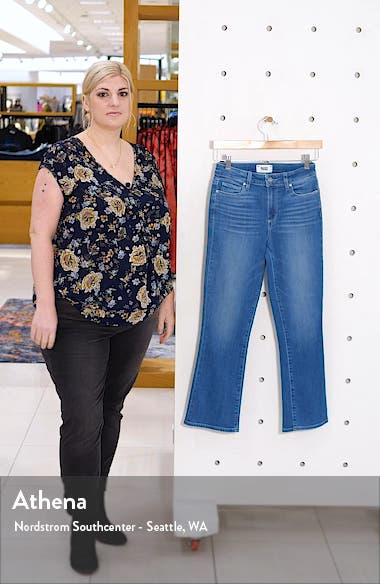 Transcend Vintage Colette Crop Flare Jeans, sales video thumbnail
