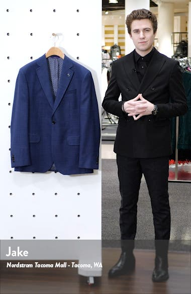 Jay Trim Fit Wool Sport Coat, sales video thumbnail