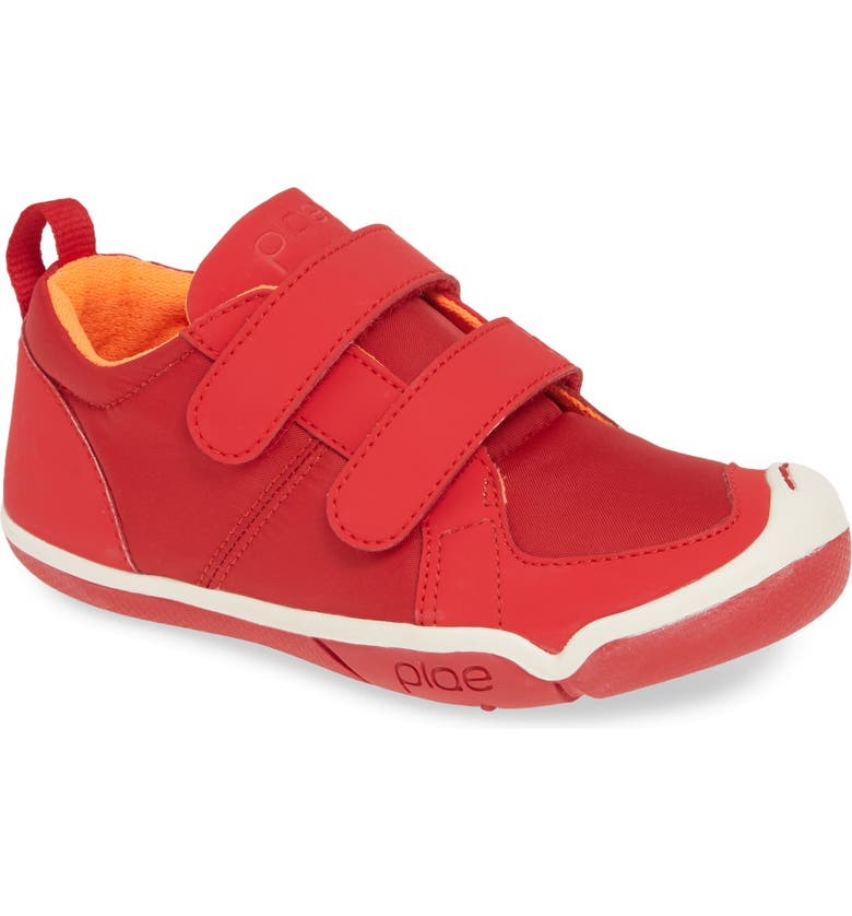 PLAE Lucien Sneaker, Main, color, RIBBON RED