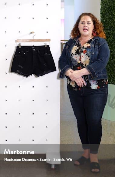 Helena Denim Shorts, sales video thumbnail