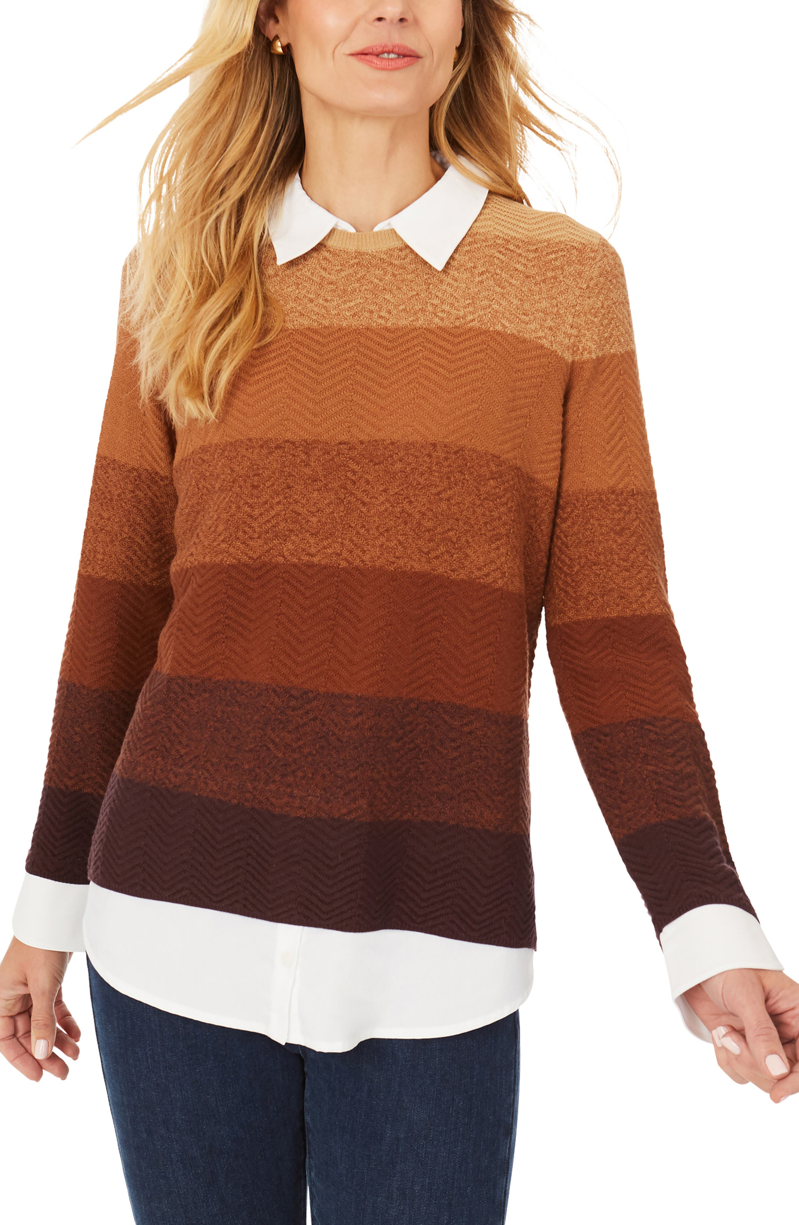Sanders Ombre Pullover