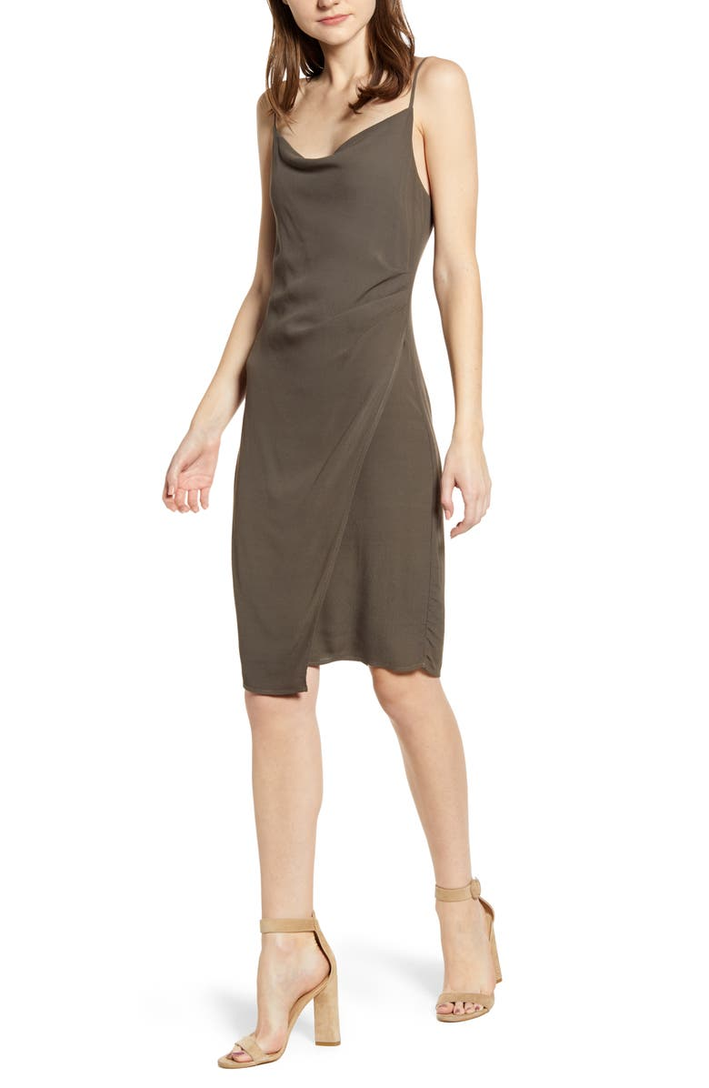 BAILEY 44 Bush Slipdress, Main, color, PALM