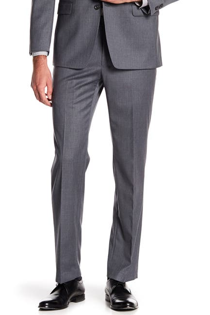"""Image of Tommy Hilfiger Tyler Modern Fit TH Flex Performance Suit Separate Pant - 30-34"""" Inseam"""