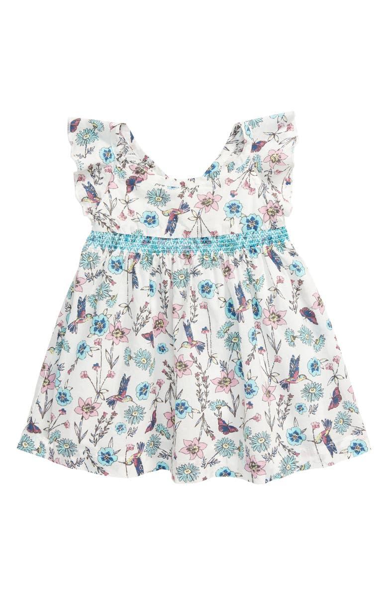 PEEK ESSENTIALS Ela Dress, Main, color, PRINT