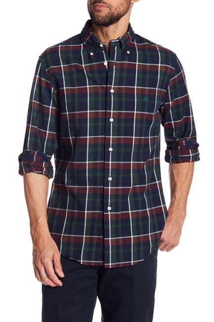 Image of Brooks Brothers Brushed Oxford Regent Regular Fit Shirt