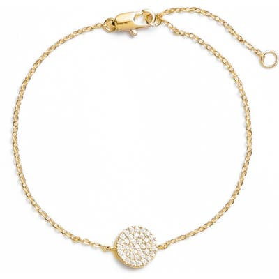 Nordstrom Pave Disc Bracelet