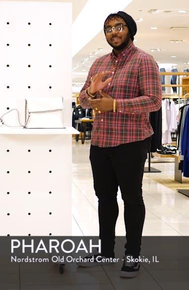 Faux Leather Crossbody Bag, sales video thumbnail