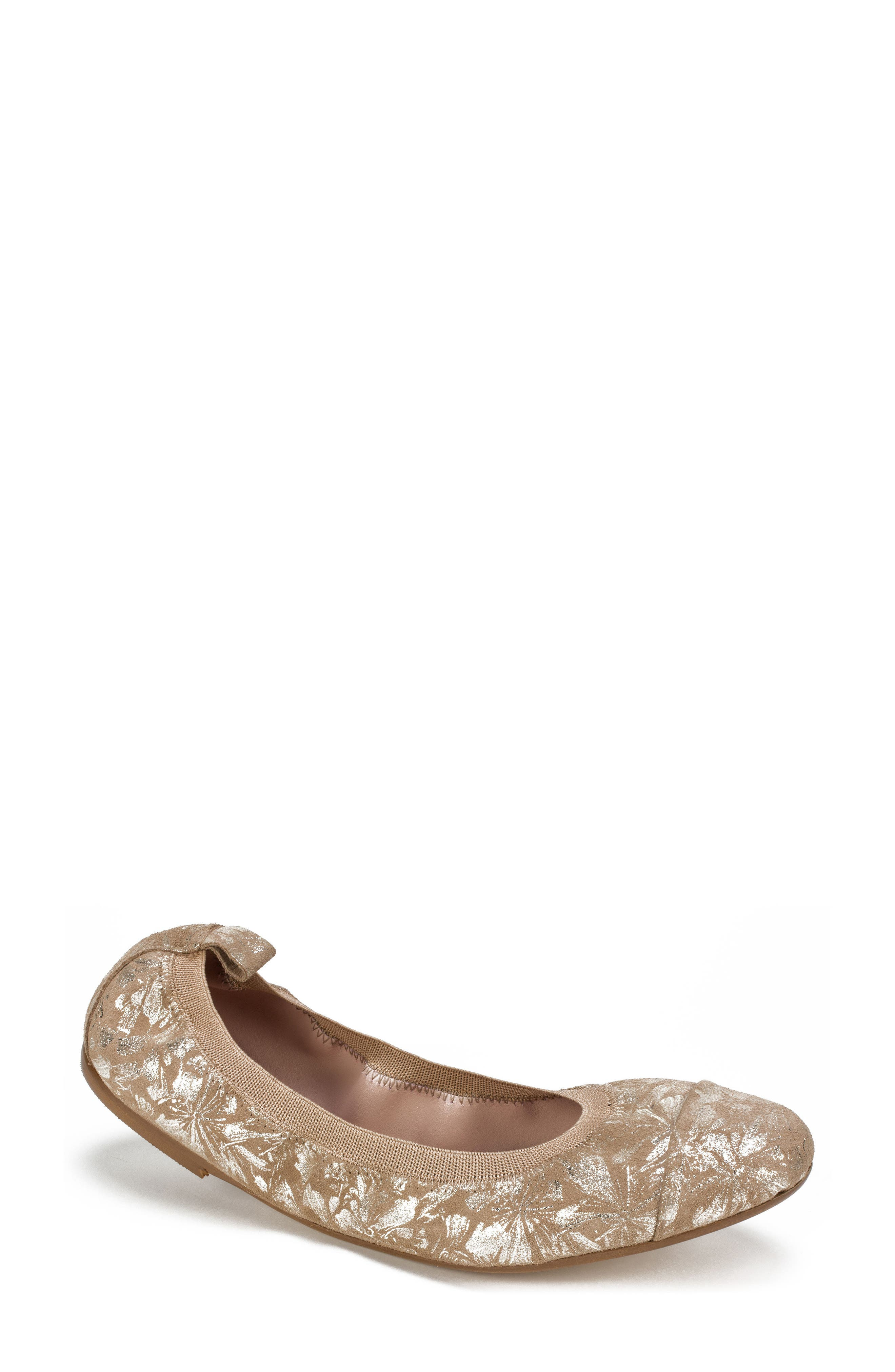 Summit Kara Ballet Flat, Brown