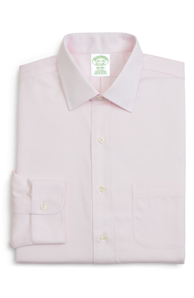 Brooks Brothers Trim Fit Solid Dress Shirt 3 For 207