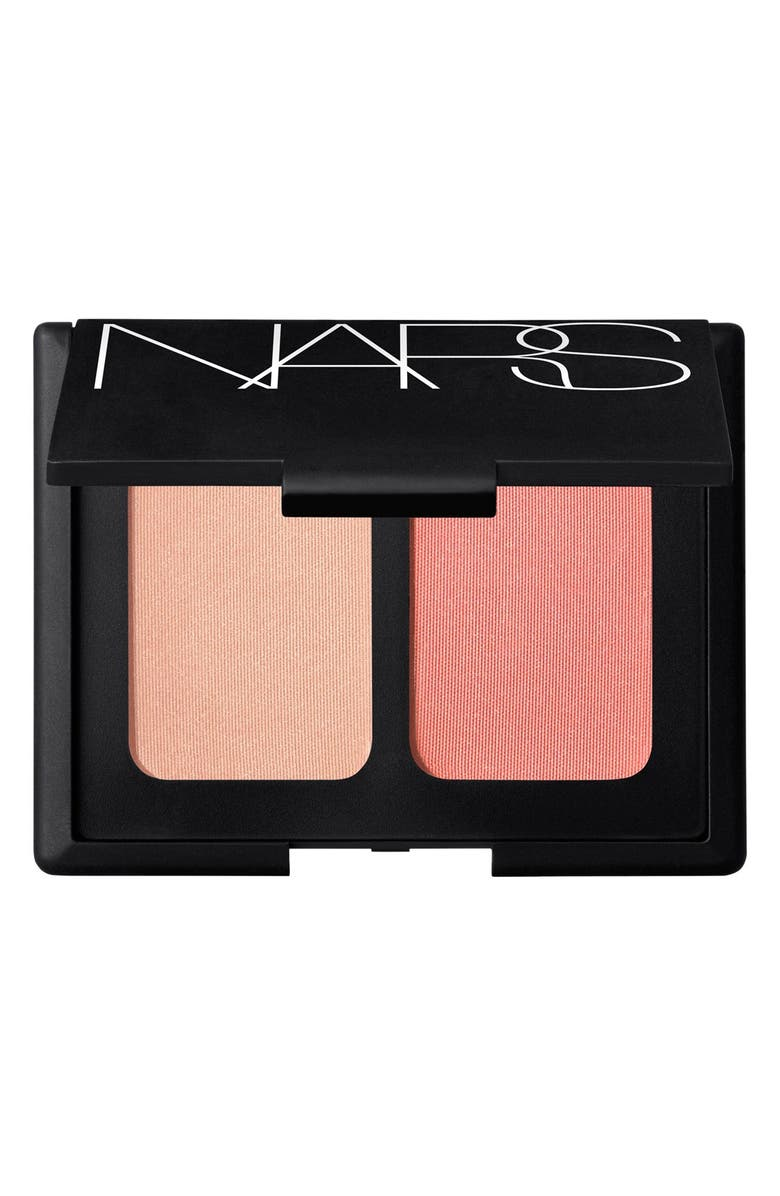 NARS 'Hot Sand/Orgasm' Blush Duo, Main, color, 650