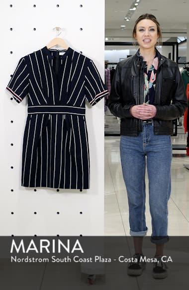 Francine Stripe Dress, sales video thumbnail