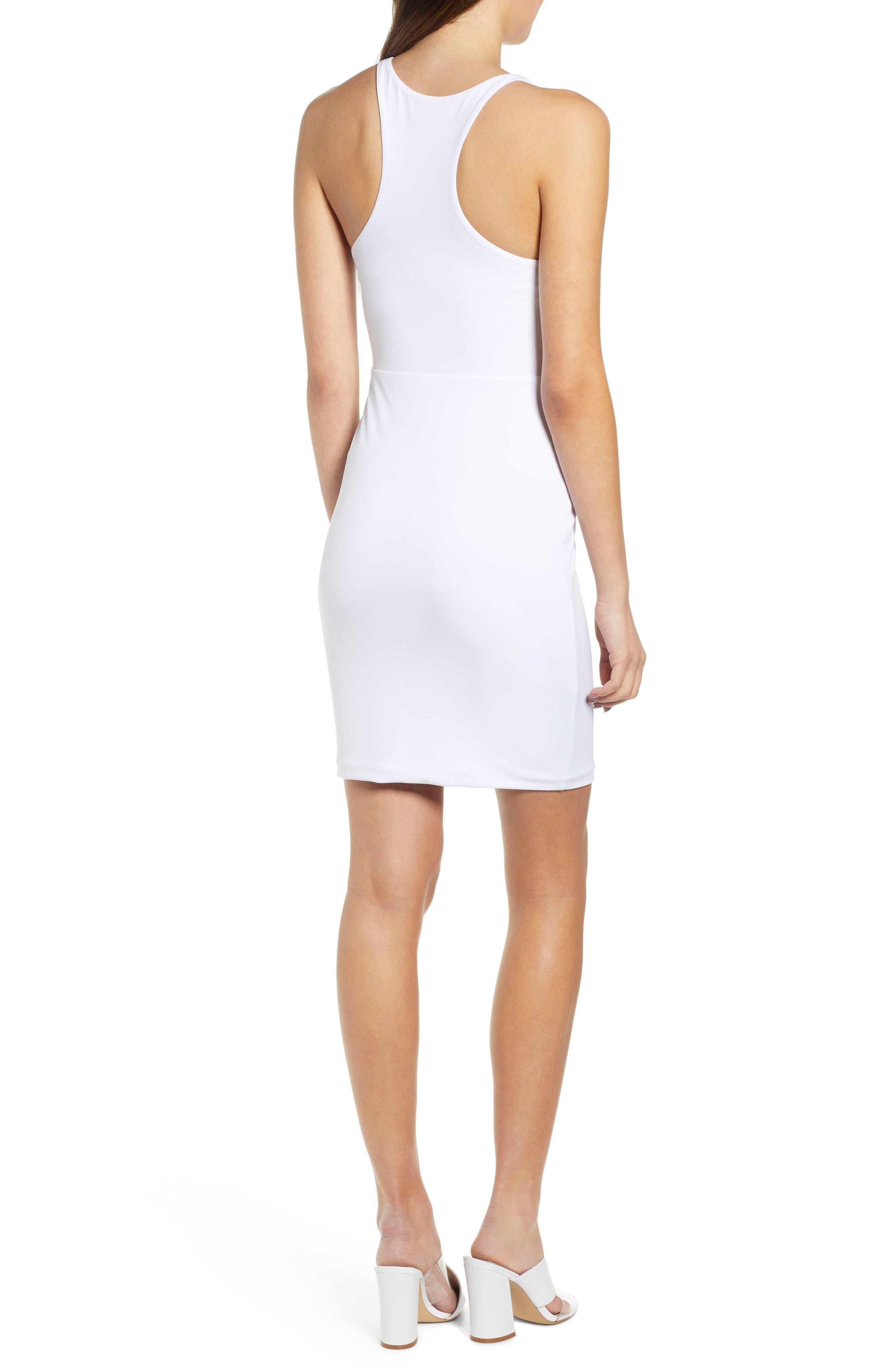 ,                             Racerback Body-Con Dress,                             Alternate thumbnail 15, color,                             100