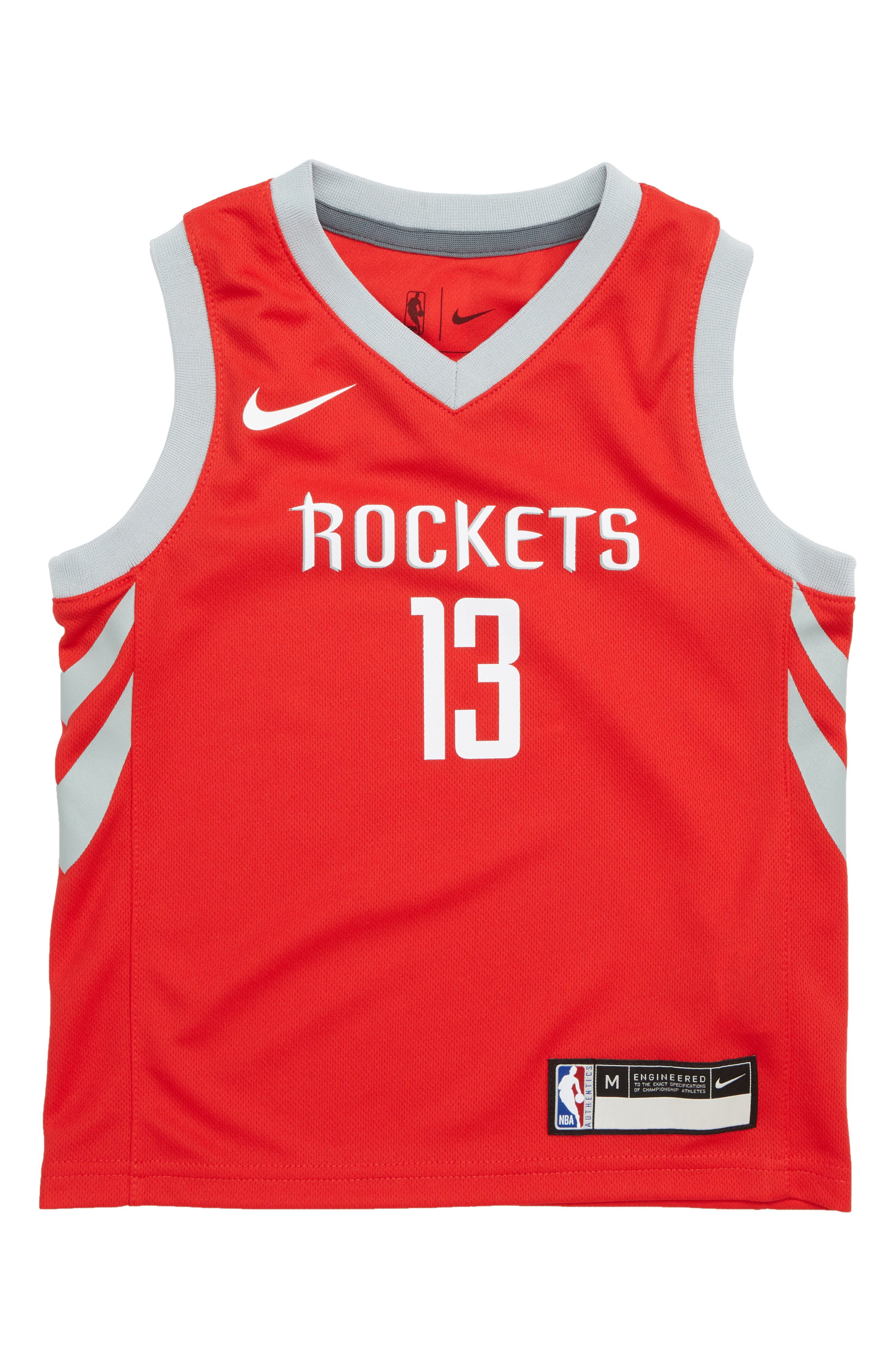 Houston Rockets James Harden Basketball Jersey, Main, color, 600