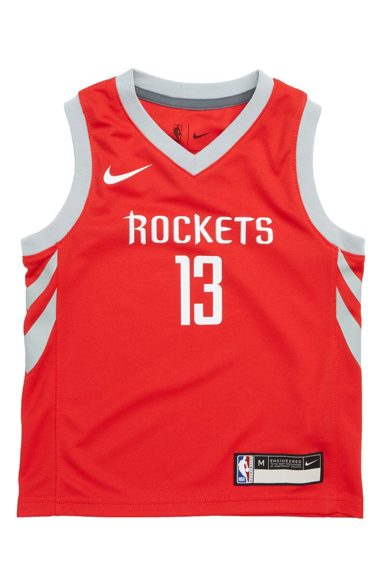newest collection df0fb c43d7 Nike Houston Rockets James Harden Basketball Jersey (Toddler ...