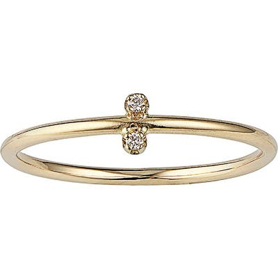 Wwake Dimple Diamond Ring