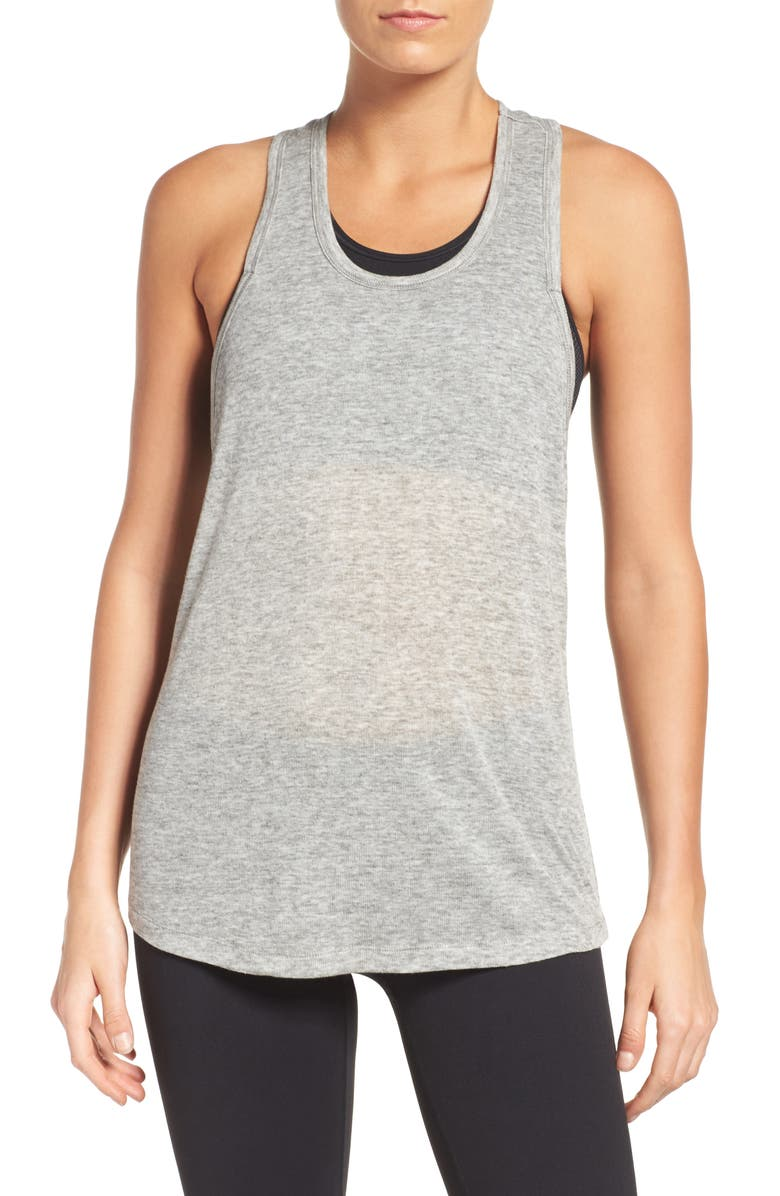 ZELLA Power Racerback Tank, Main, color, 050