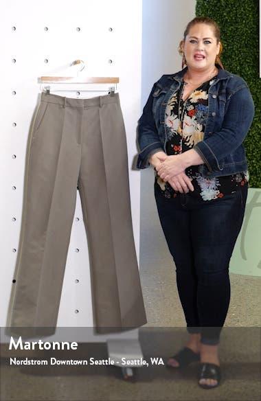 Emilio Wide Leg Cotton Pants, sales video thumbnail