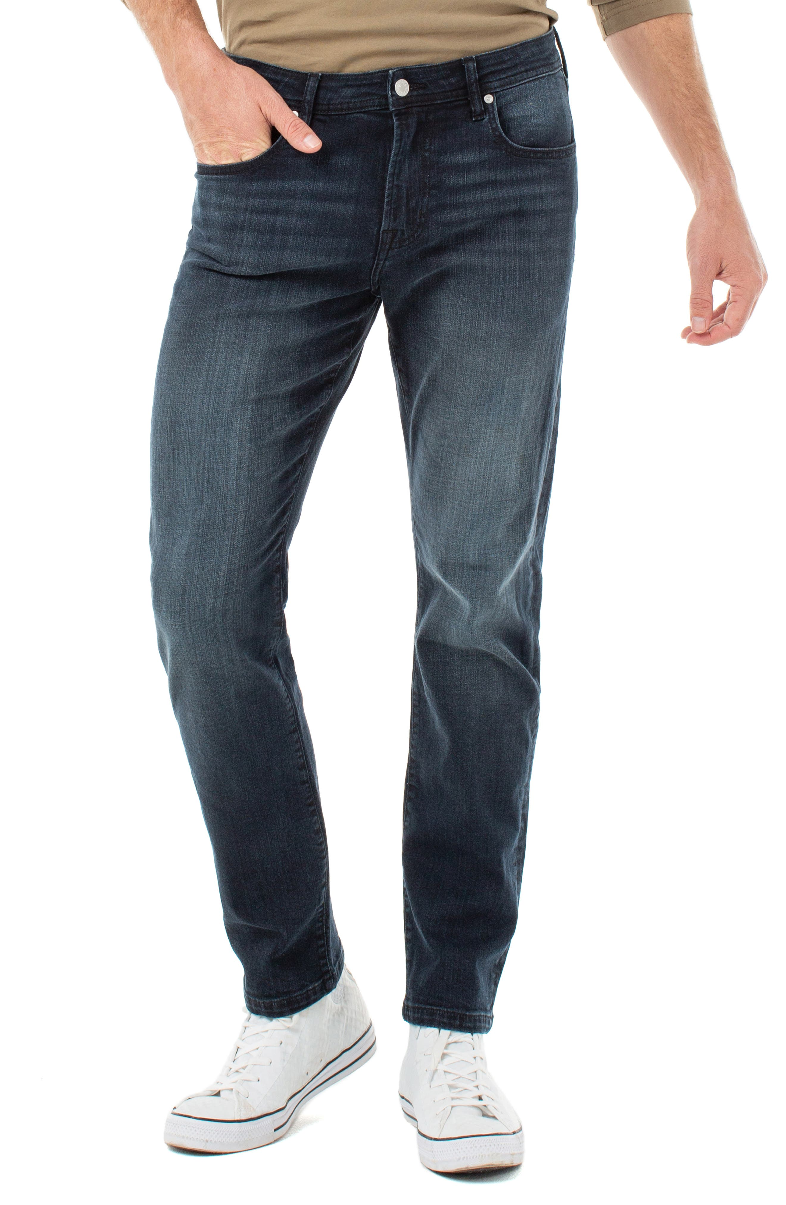 Men's Liverpool Kingston Modern Straight Leg Jeans,  29 x 32 - Blue