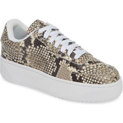 Jeffrey Campbell Court Sneaker- Brown