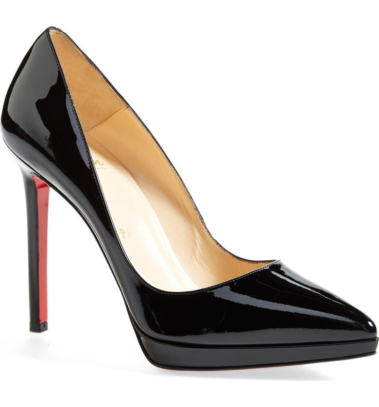 a1e32ff85f Christian Louboutin 'Pigalle Plato' Pointy Toe Pump | Nordstrom