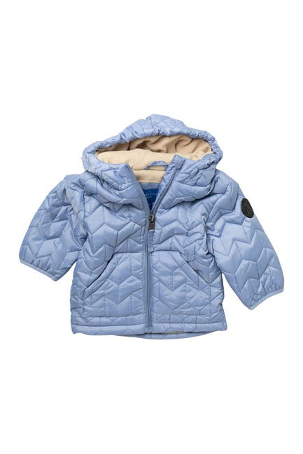 Image of Perry Ellis Zig Zag Quilted Jacket