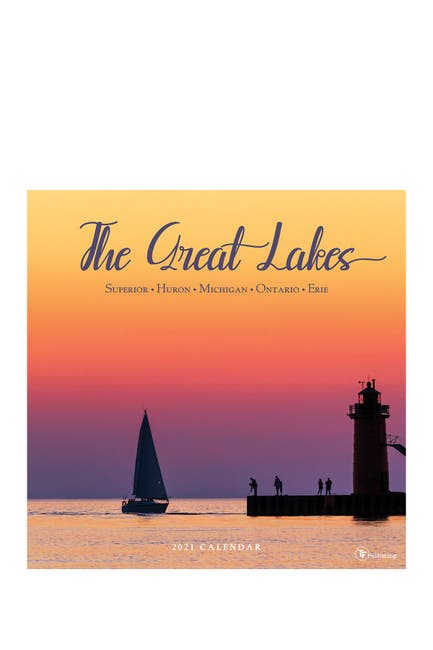 Image of TF Publishing 2021 Great Lakes Wall Calendar