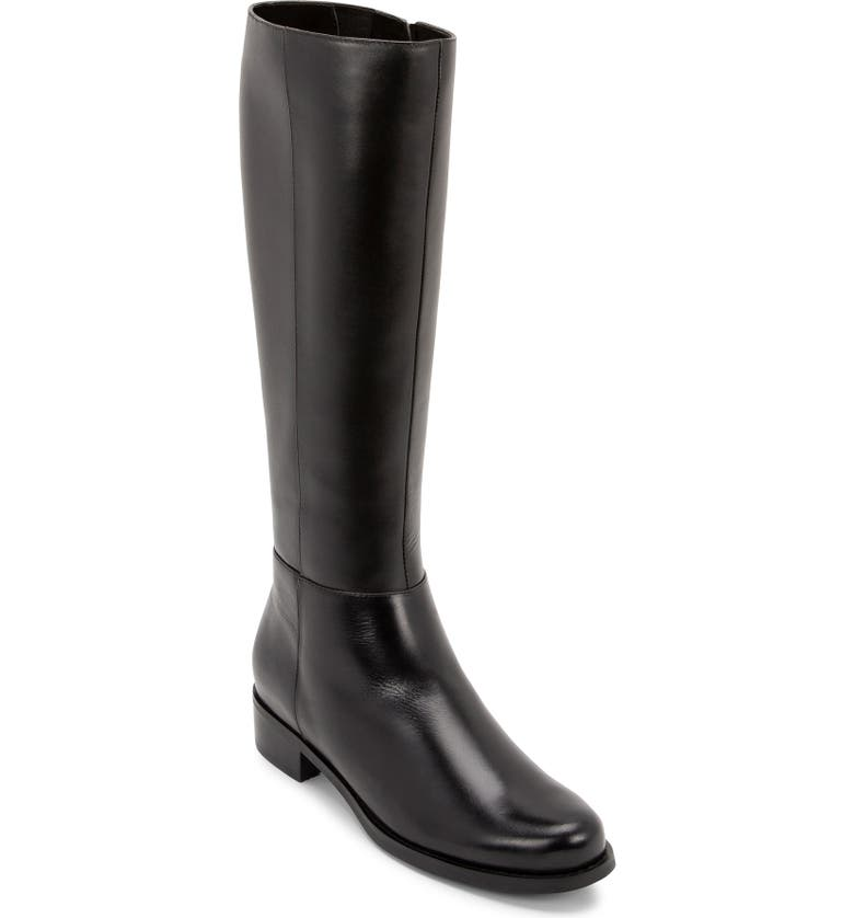 BLONDO Vica Waterproof Boot, Main, color, BLACK LEATHER