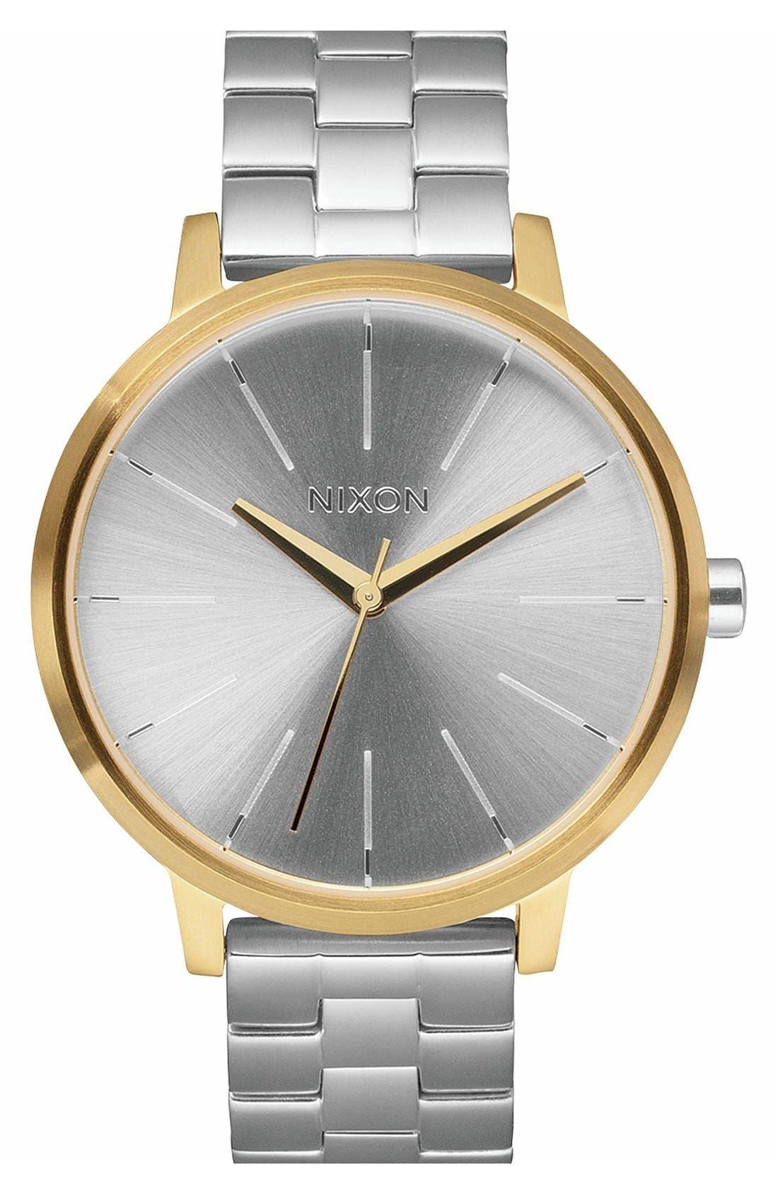 ,                             'The Kensington' Leather Strap Watch, 37mm,                             Main thumbnail 24, color,                             040