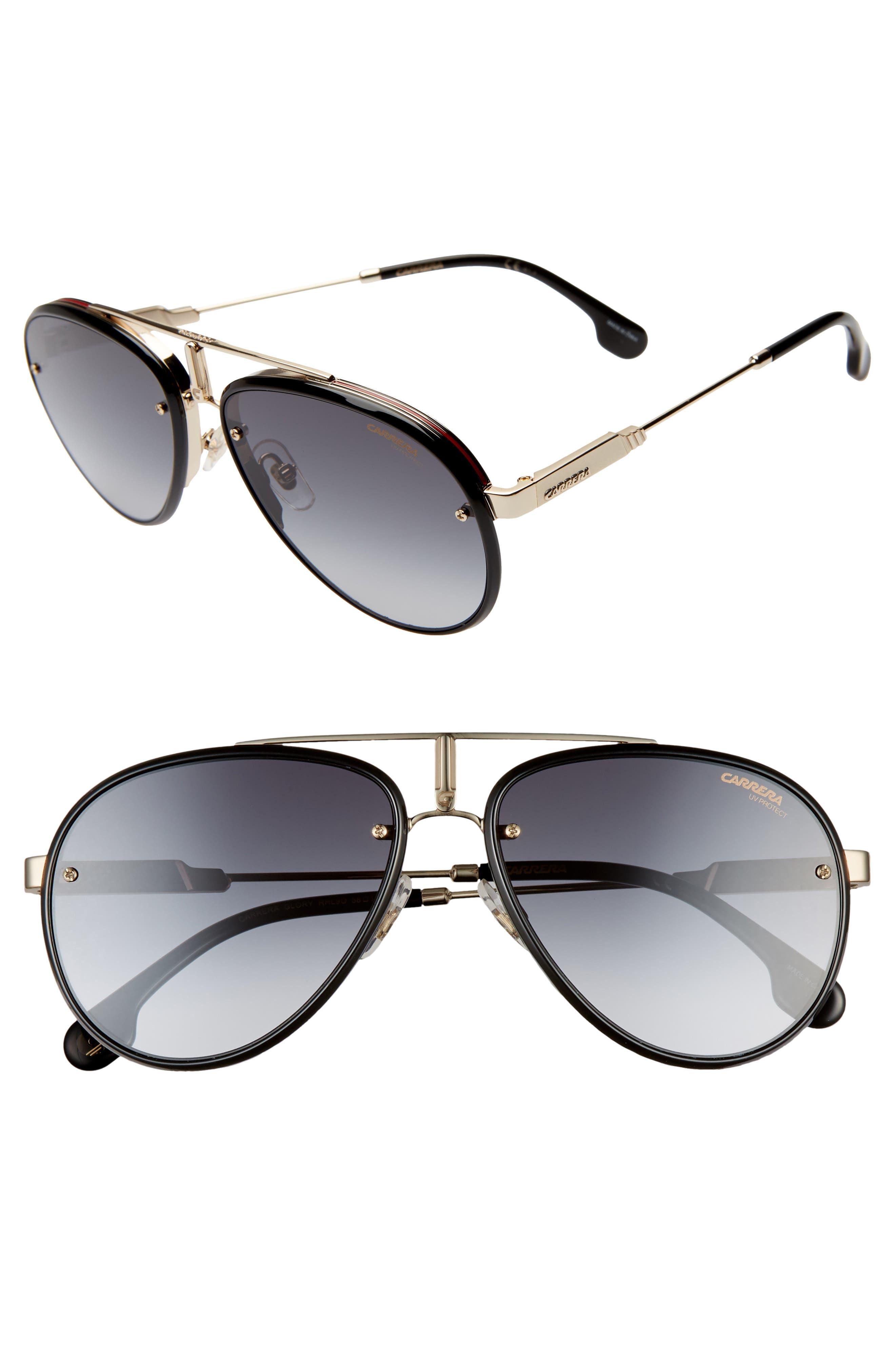 Glory 58mm Aviator Sunglasses