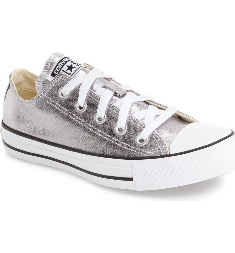 CONVERSE Chuck Taylor<sup>®</sup> All Star<sup>®</sup> 'Ox' Metallic Low Top Sneaker, Main, color, 040