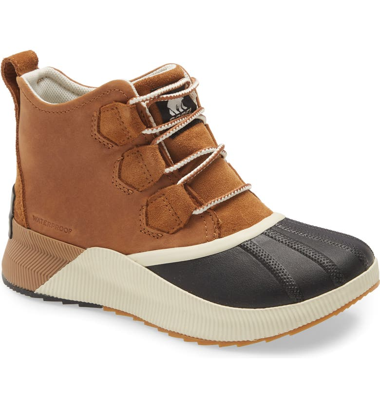 SOREL Out N About III Waterproof Boot, Main, color, TAFFY BLACK
