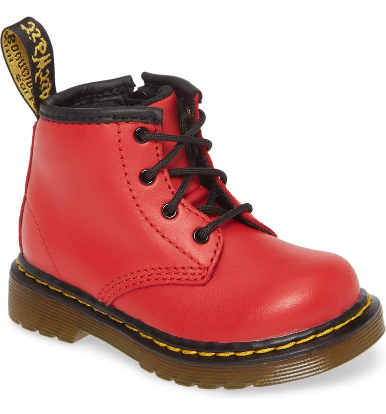 DR. MARTENS 'Brooklee' Patent Leather Boot, Main, color, 636