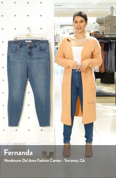 Abby High Waist Ankle Skinny Jeans, sales video thumbnail
