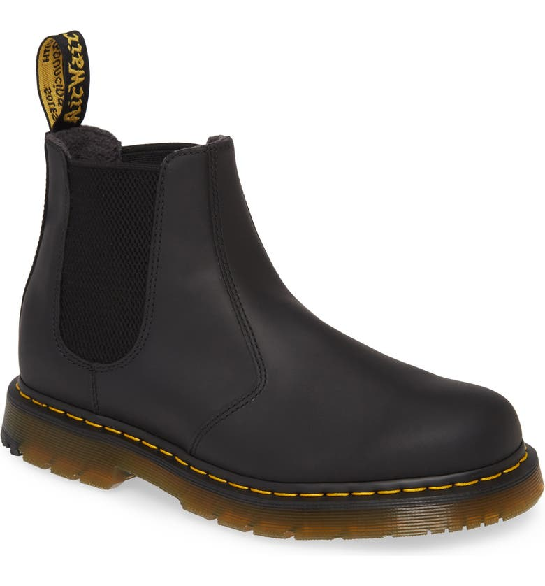 DR. MARTENS Snowplow Chelsea Boot, Main, color, BLACK