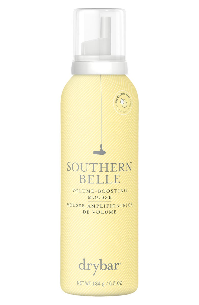 DRYBAR Southern Belle Volume-Boosting Mousse, Main, color, NO COLOR