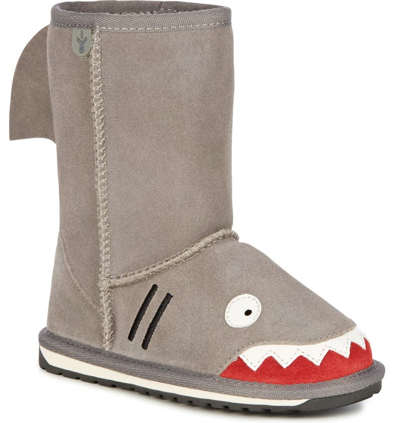 EMU AUSTRALIA 'Little Creatures - Shark' Boot, Main, color, 020