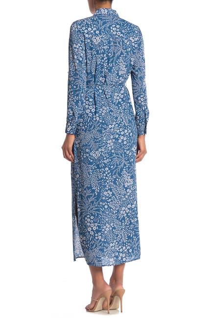 Image of NANETTE nanette lepore Long Sleeve Printed Maxi Dress