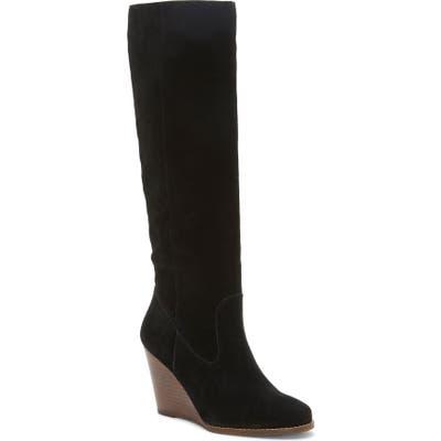 Jessica Simpson Caydee Knee High Boot- Black